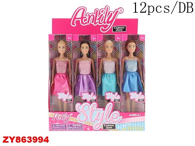 Barbie Doll(12PCS/DB)